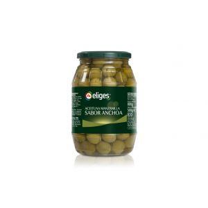 Aceituna manzanilla sin anchoa ifa eliges tarro 500g