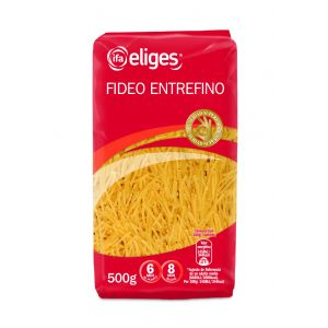 Pasta fideo nº2  ifa eliges 500g