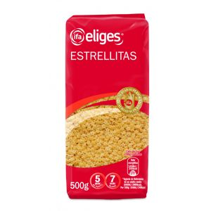 Pasta estrellita ifa eliges bolsa 500gr