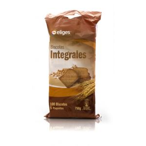 Biscotes  integrales ifa eliges 100rb 750g