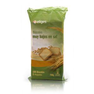 Biscotes bajos en sal  ifa eliges 100rb 750g