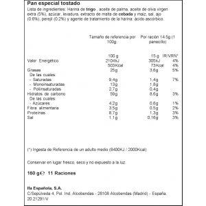 Panecillos ajo ifa eliges 170gr