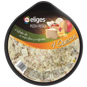Pizza fresca 4 quesos ifa eliges 400g