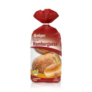 Pan  hamburguesa maxi  ifa eliges  p4x75g