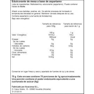 Edulcorante granulado ifa eliges bote 75gr