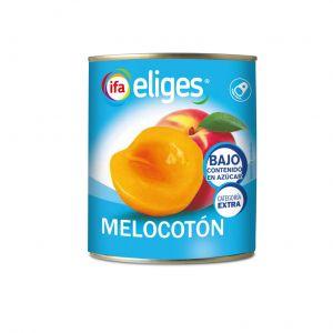 Melocoton en almibar sin azucar ifa eliges lata 1k 480g ne