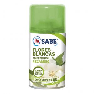 Ambientador automatico flores blancas ifa sabe recambio 250ml