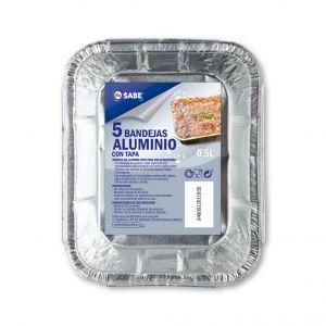 Bandeja 6 canelones aluminio ifa sabe 5 ud
