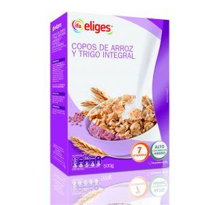Copos de arroz y trigo integral ifa eliges 500g