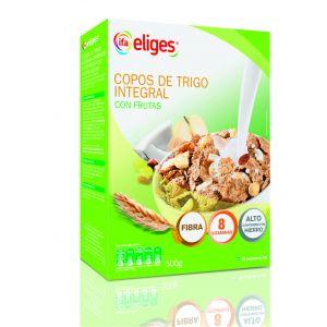 Copos de trigo integral con fruta ifa eliges 500g