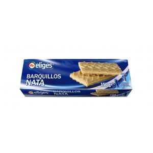 Galleta barquillo nata ifa eliges 150g