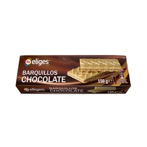 Galleta barquillo choco ifa eliges 150g