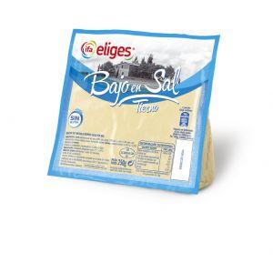 Queso tierno bajo en sal ifa eliges cuña 250g