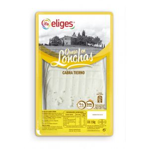 Queso cabra ifa eliges lonchas 150g