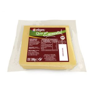 Queso emmental ifa eliges porcion 300g