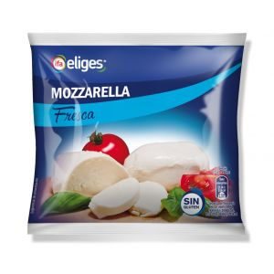 Queso mozzarella fresca ifa eliges 125g