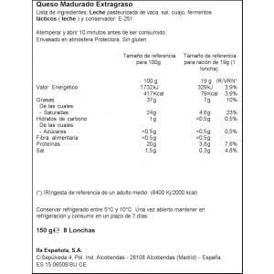 Queso havarti ifa eliges lonchas 150g