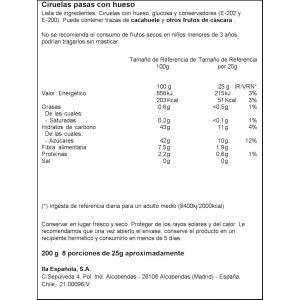 Ciruelas con hueso ifa eliges 200g