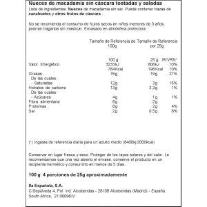 Nuez macadamia ifa eliges 100g