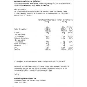 Anarcados fritos ifa eliges 125g