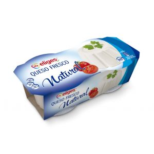 Queso burgos natural ifa eliges 2x250g