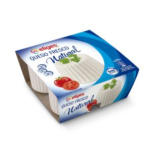 Queso burgos natural ifa eliges 4x62,5g