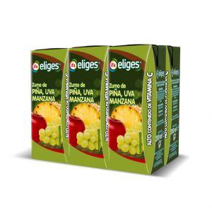 Zumo de piña-uva ifa eliges p-6 20cl