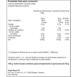 Escarola rizada ifa eliges 150g