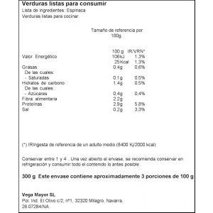 Espinacas ifa eliges 300g