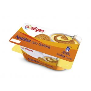 Natillas con galleta ifa eliges p4x125g
