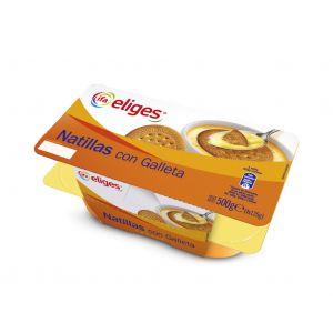Natillas con galleta ifa eliges p4x125g