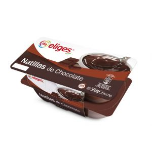 Natillas chocolate ifa eliges p4x125g