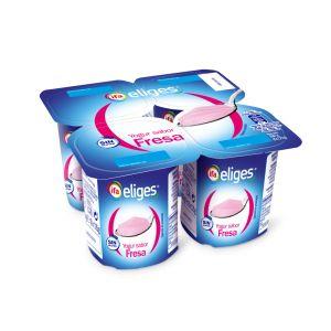 Yogur fresa ifa eliges p-4x 125g