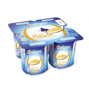 Yogur platano ifa eliges p-4x 125gr