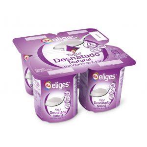 Yogur desnatado natural ifa eliges p-4x 125gr