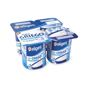 Yogur griego natural azucarado ifa eliges p-4x125g