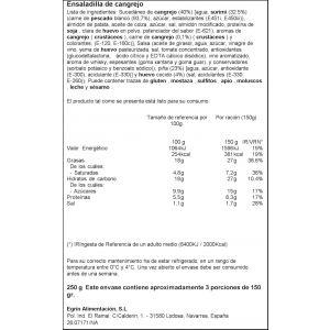 Ensaladilla cangrejo ifa eliges 450gr