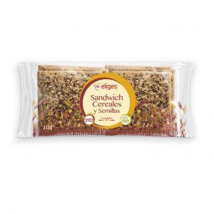 Pan  sandwich cereales ifa eliges  p8x39g