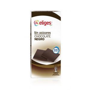 chocolate negro sin azúcar ifa eliges 100g