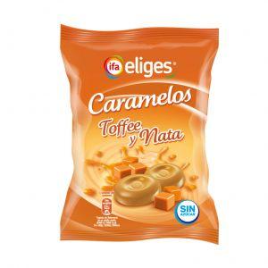 Caramelos sin azucar  toffe nata ifa eliges  90g