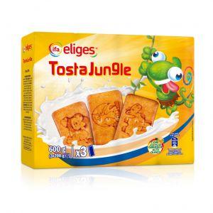 Galleta tosta jungle ifa eliges p3x 200gr