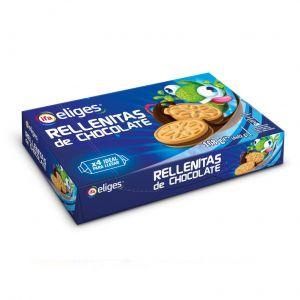 Galleta mini rellena chocolate ifa eliges 4x42gr