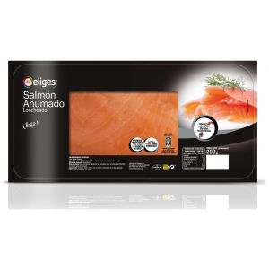 Salmon ahumado ifa eliges lonchas 200gr