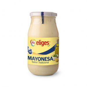 Mayonesa vidrio ifa eliges 450g