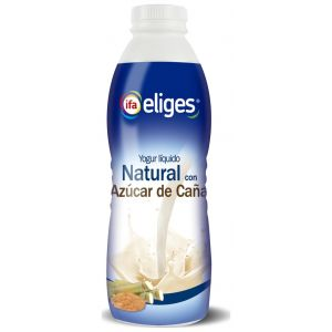 Yogur liquido natural azuucarado ifa eliges 1k