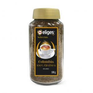 Cafe soluble liofilizado colombia ifa eliges 100gr