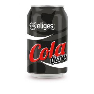 Refresco cola zero zero ifa eliges lata 33cl