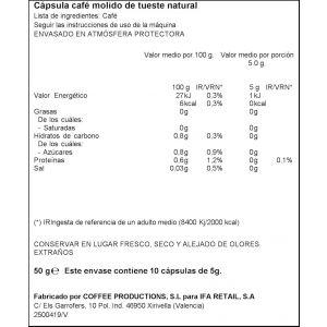 Cafe capsula brasil ifa eliges 10 cap