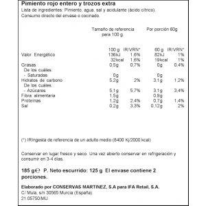 Pimiento morron  ifa eliges  125g ne