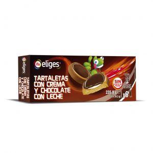 Tartaleta crema choco ifa eliges p-6x39gr